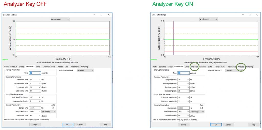 VibrationVIEW analyzer